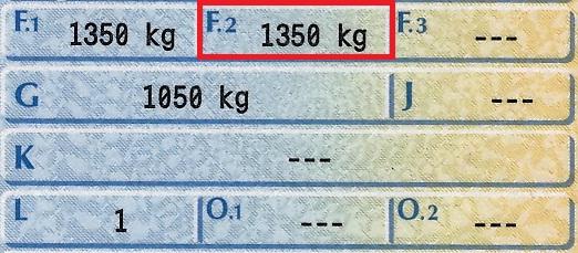 dopuszczalna masa całkowita DMC przyczepy kempingowej