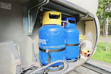 sprawdzenie szczelnosci gazu w przyczepie kempingowej